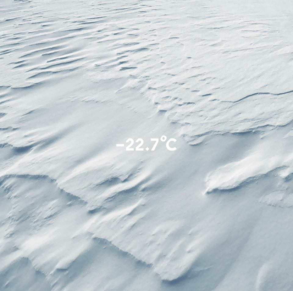 """Molécule """"-22.7°C"""" (2018)  Présenté par l'artiste Jardin des Tuileries"""