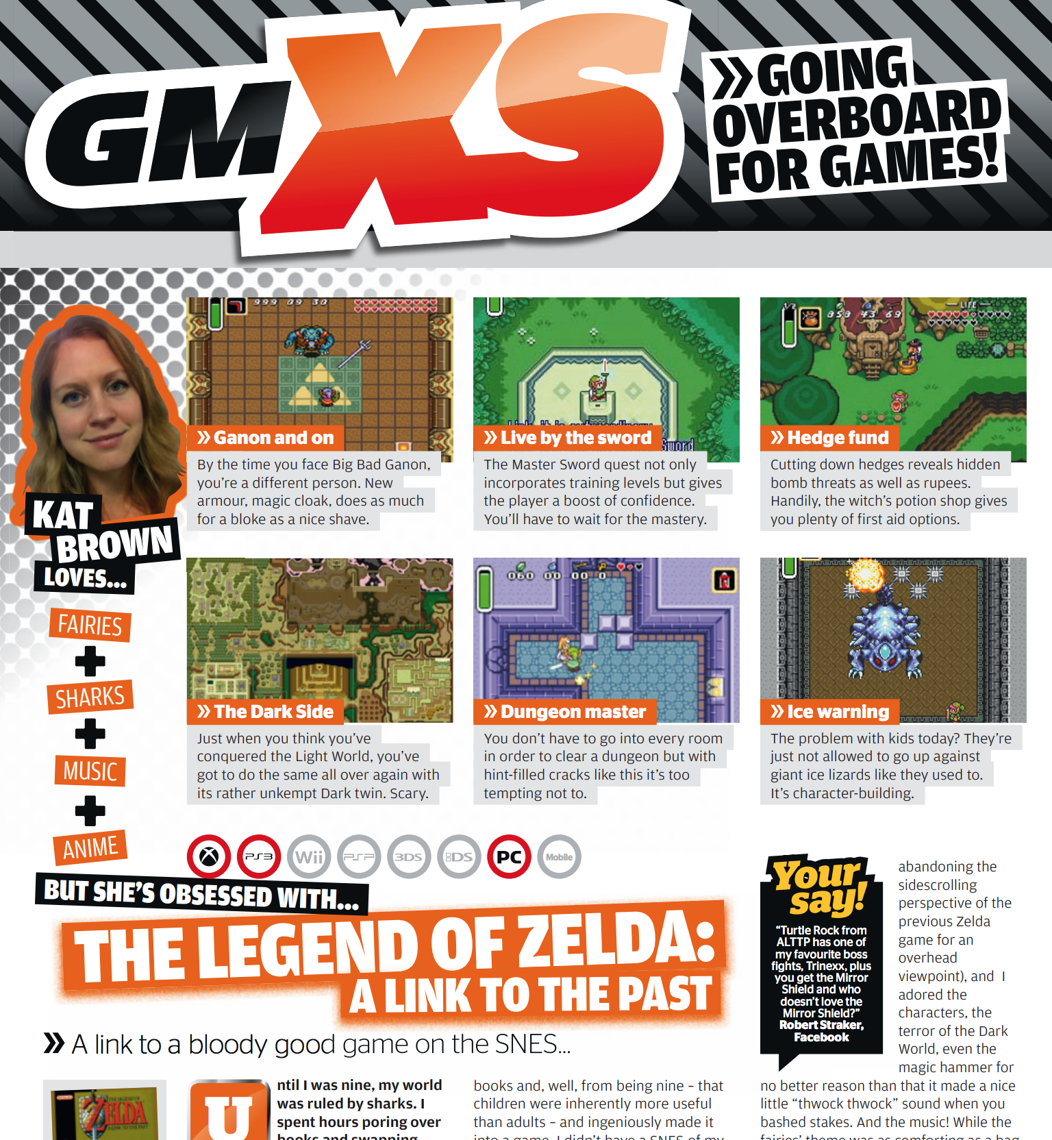 I'm obsessed with Zelda: A Link to the Past (GamesMaster)