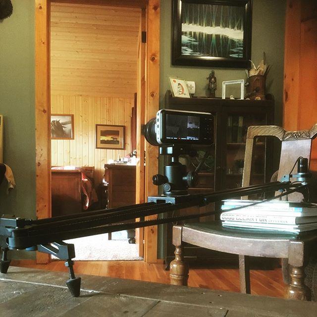 Did a bit of home #Videography with my @revolve motorized slider!