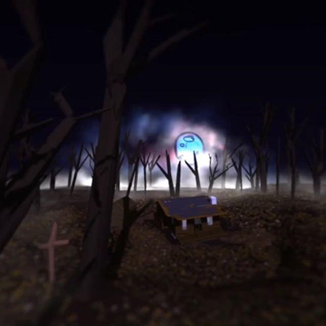 Evil Dead Cabin in Google Tiltbrush VR! Follow my other account @thorrgaming for more game centered and digital art posts!  #evildead #cabin #deadite #zombie #horror #80s #ashwilliams #vr #art #google #tiltbrush #fanmade