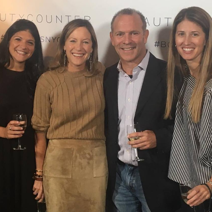 RICH CALANDRA, Founder @ THEGOODLIFE.com ,  with Gregg Renfrow, Founder @ Beautycounter and Lauren and Jennifer from the GOODLIFE Beautycounter Team!