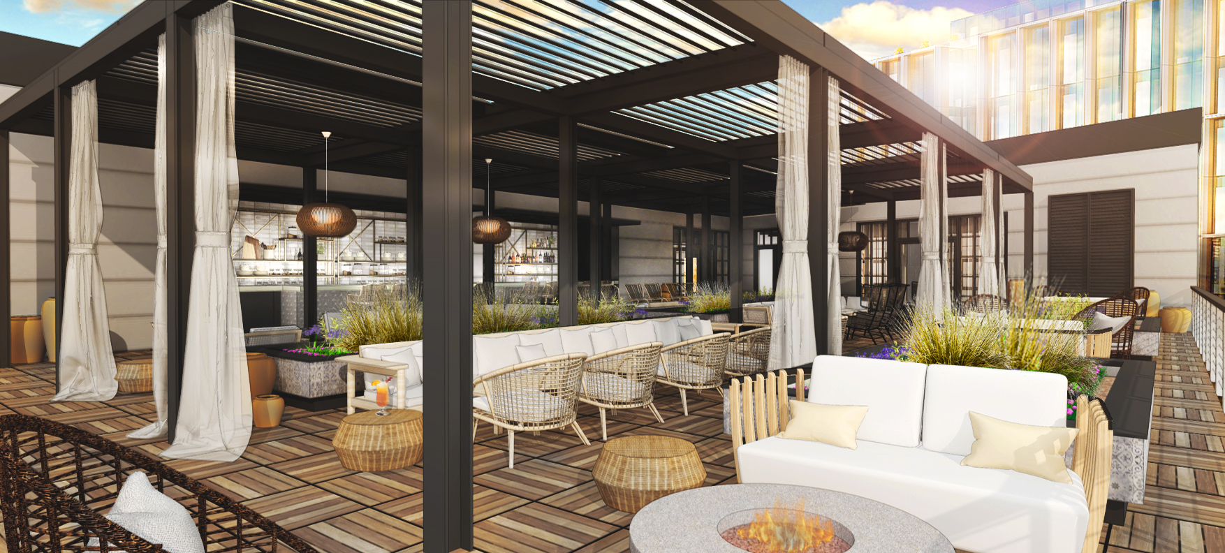 Terrazza - A rooftop oasis and events space for every season