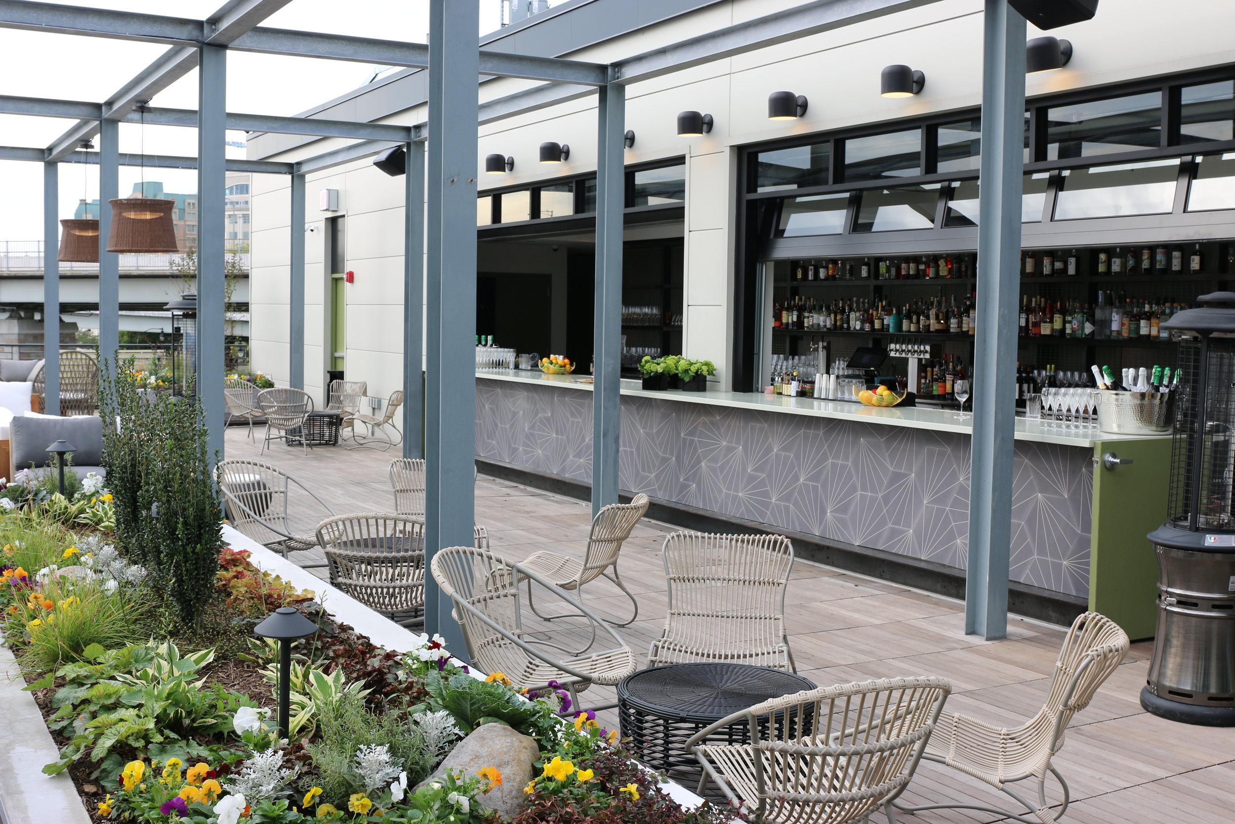 Terrazza Officina Italian Restaurant Market Dc