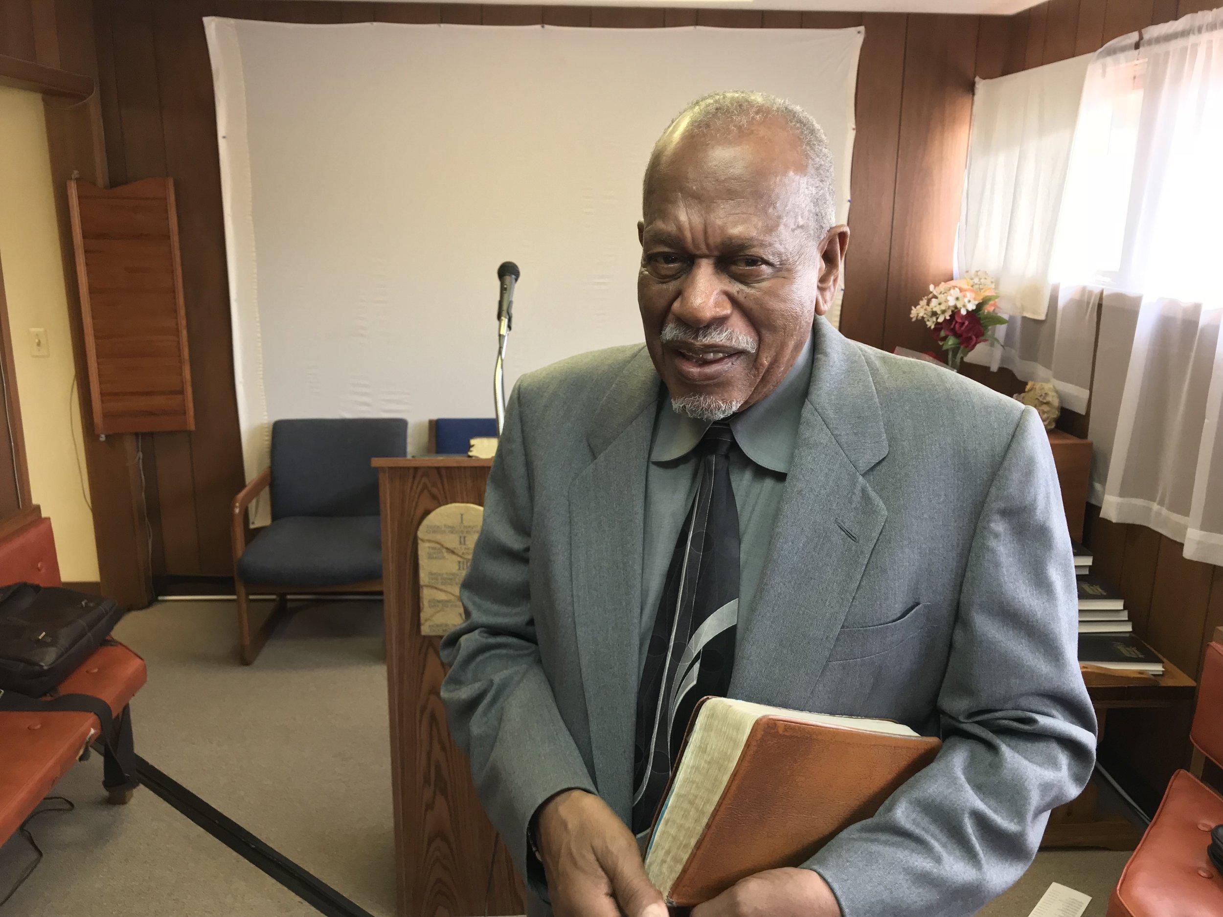 Elder Henry Boykin, of the Kenosha Seventh-day Adventist Church.