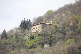 Das Kloster Bigorio oberhalb des Dorfes Bigorio