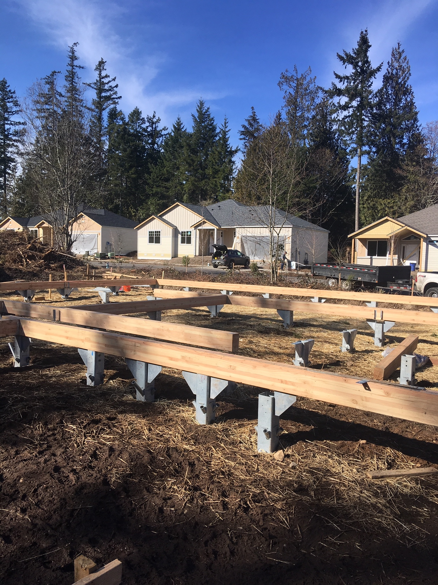 The Foundation Frame is the ideal solution for 1 and 2 story homes
