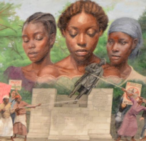 Sisterly Resistance, 2019 by Jules Arthur