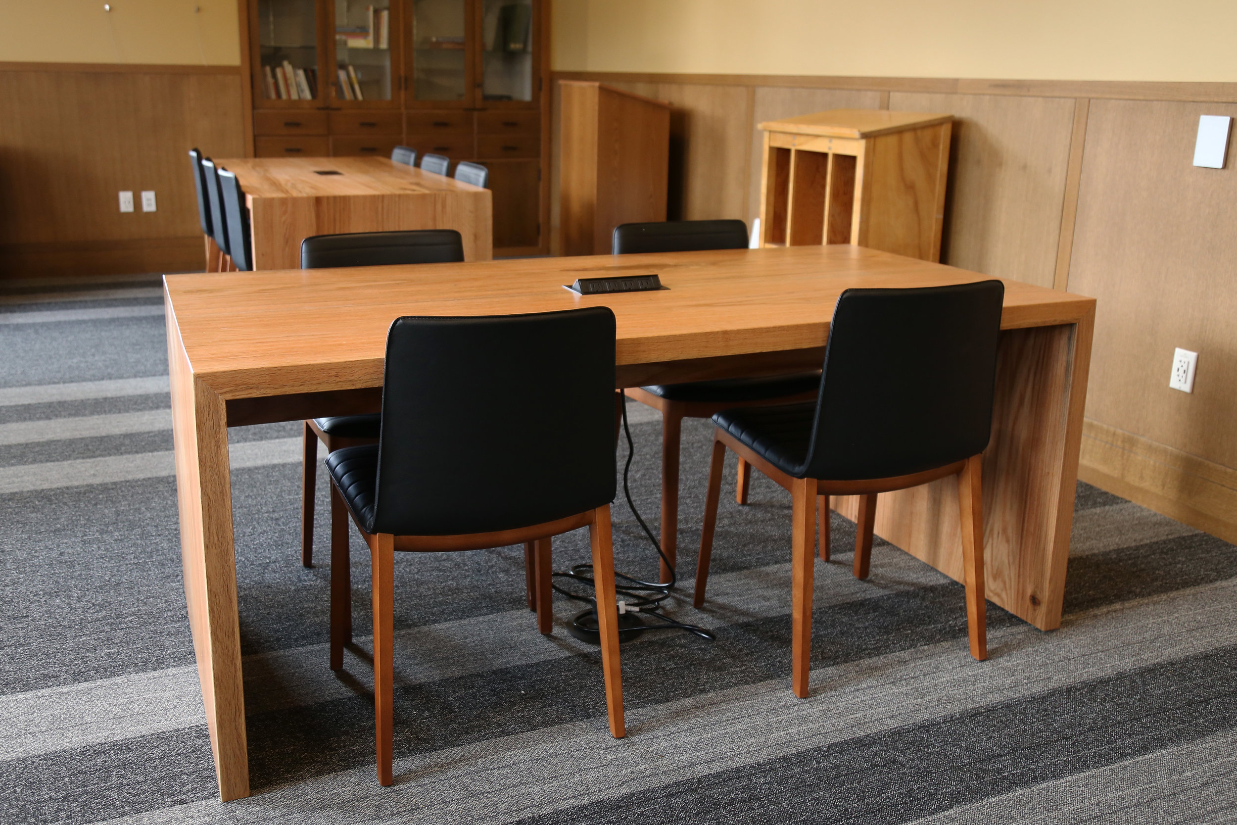 Custom conference table and desk