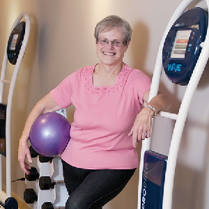 """ Until I found Vibes,  I always said that I was allergic to exercise! Now I can truly say that I look forward to working out, and I even miss it when I am away. I would highly recommend Vibes to anyone.""     - Jean Simpson"