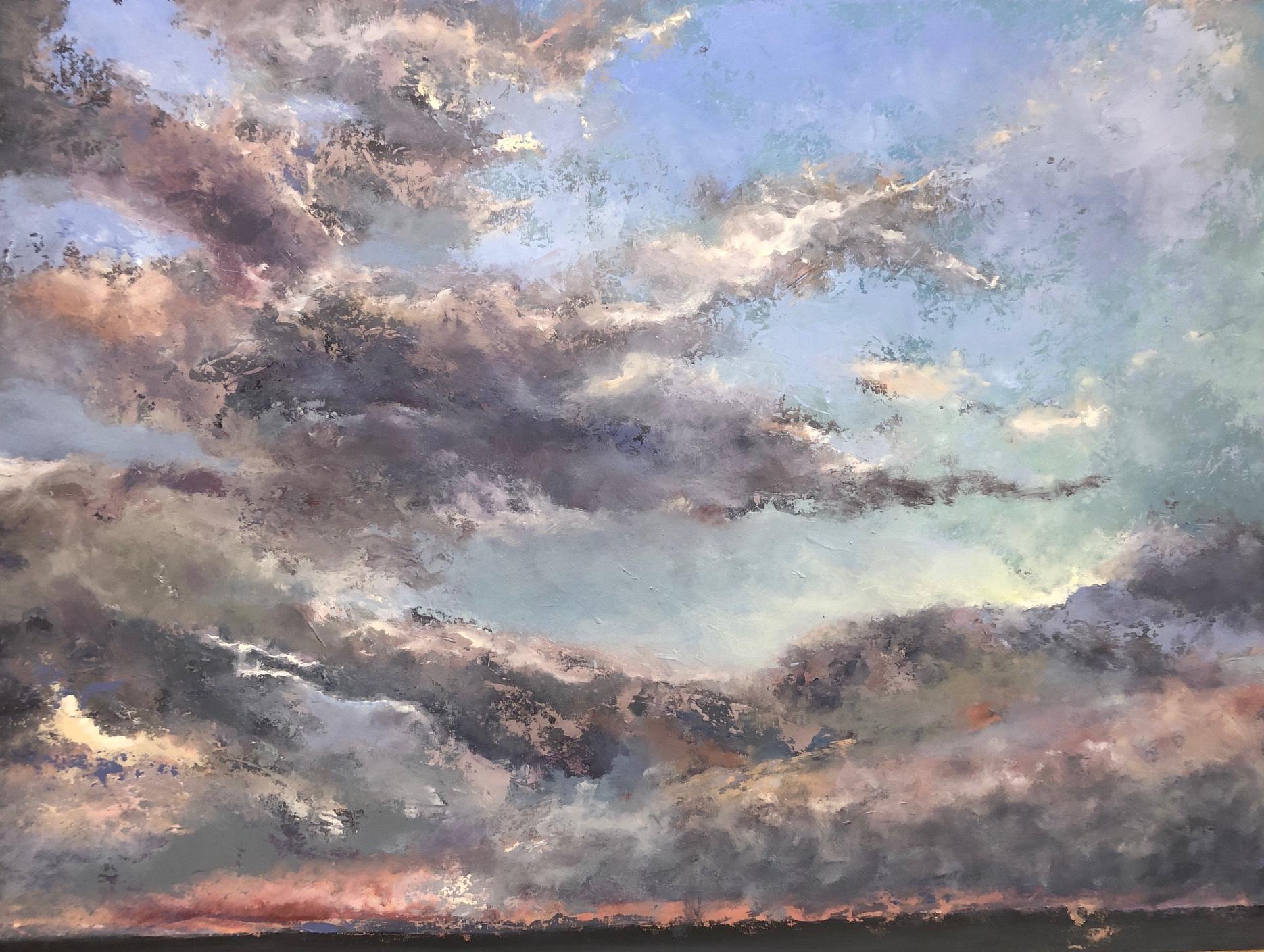 Grey Sky Sunset 4