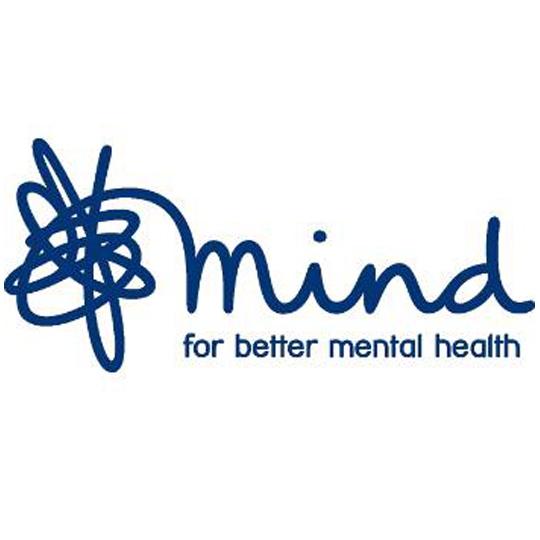 mIND - Mind, mental health charity. Here to make sure no one has to face a mental health problem alone.