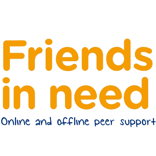 FRIENDS IN NEED - Friends in Need is a way for people affected by depression to meet online and in their local area. It's free to join and a great way to share support