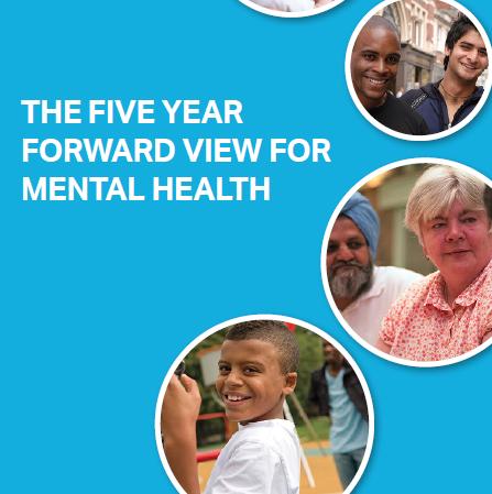 NHS MENTAL HEALTH 5 YEAR FORWARD VIEW -