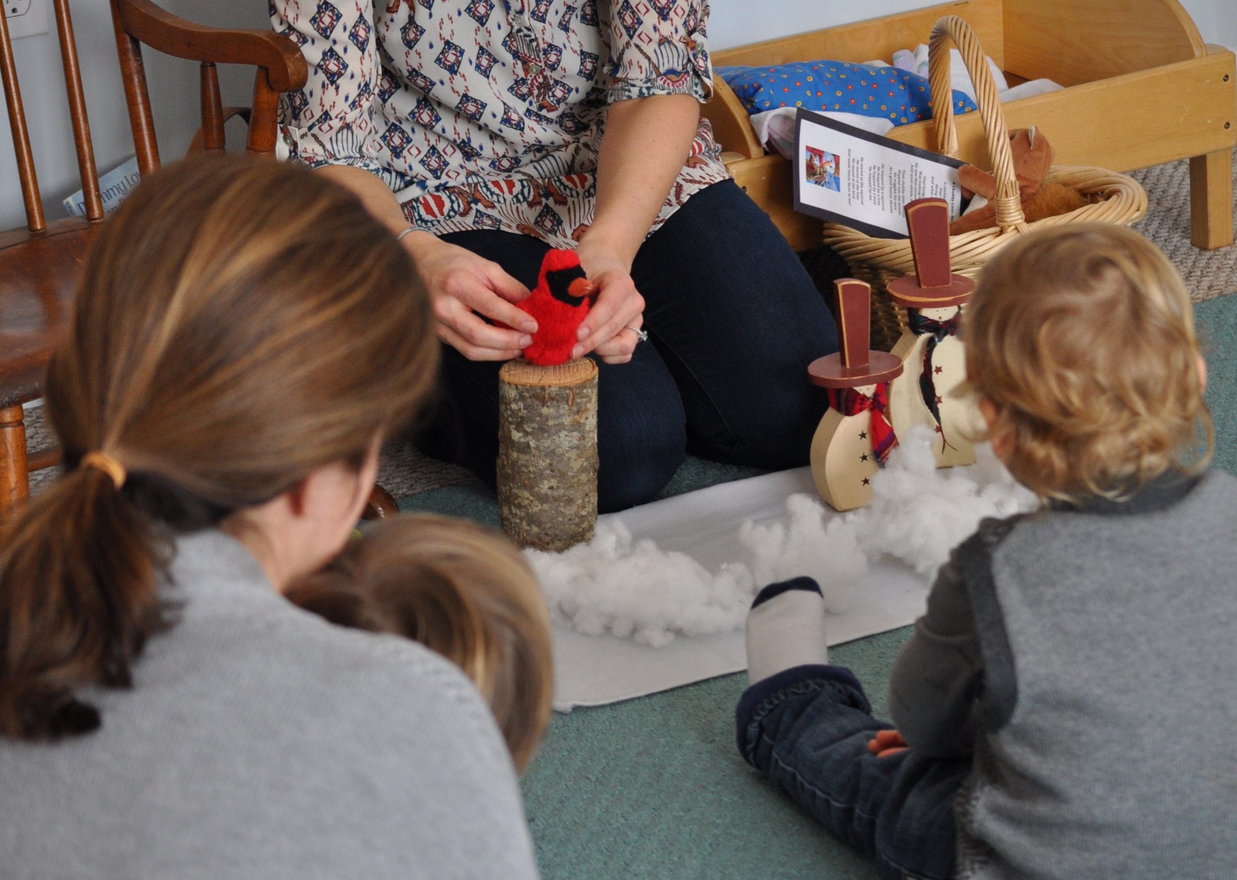 Newburyport Toddler Class Storytelling