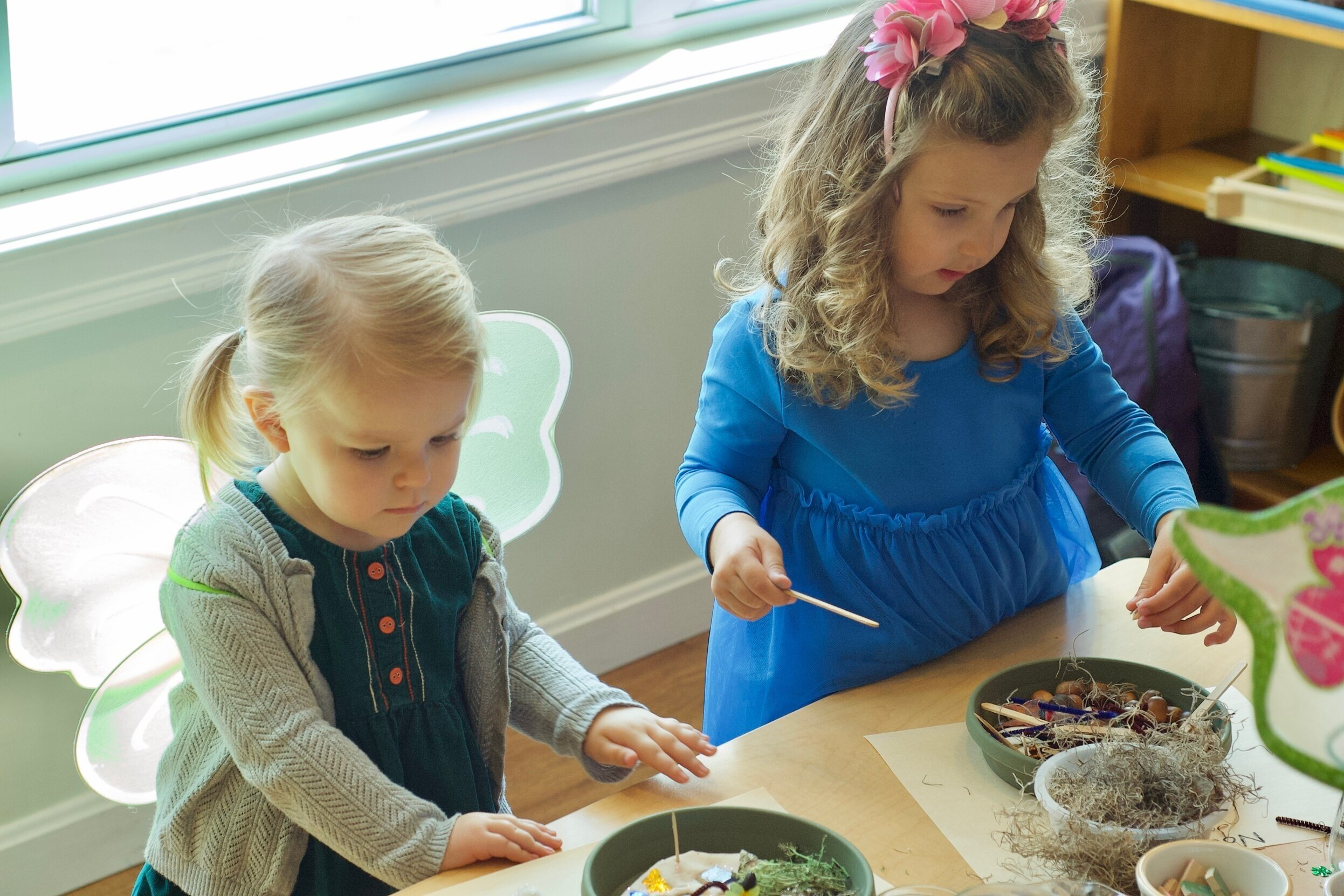 Fairy Treasures Birthday Party - Listen to an enchanted fairy story, and choose tiny treasures to create a fairy garden to bring home and wait for your own fairies to visit. *$325