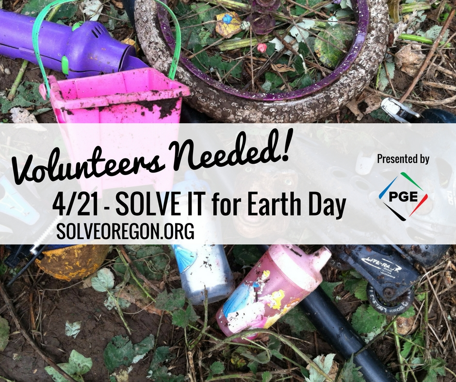 Solve It for Earth Day Volunteers Needed Image.jpg