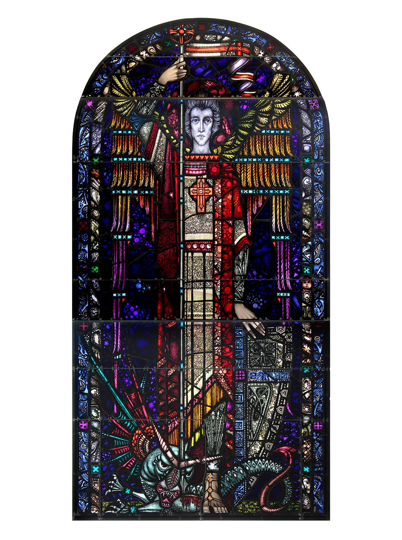 Copy of Restored Window, Sacred Heart Church, Sacramento, CA
