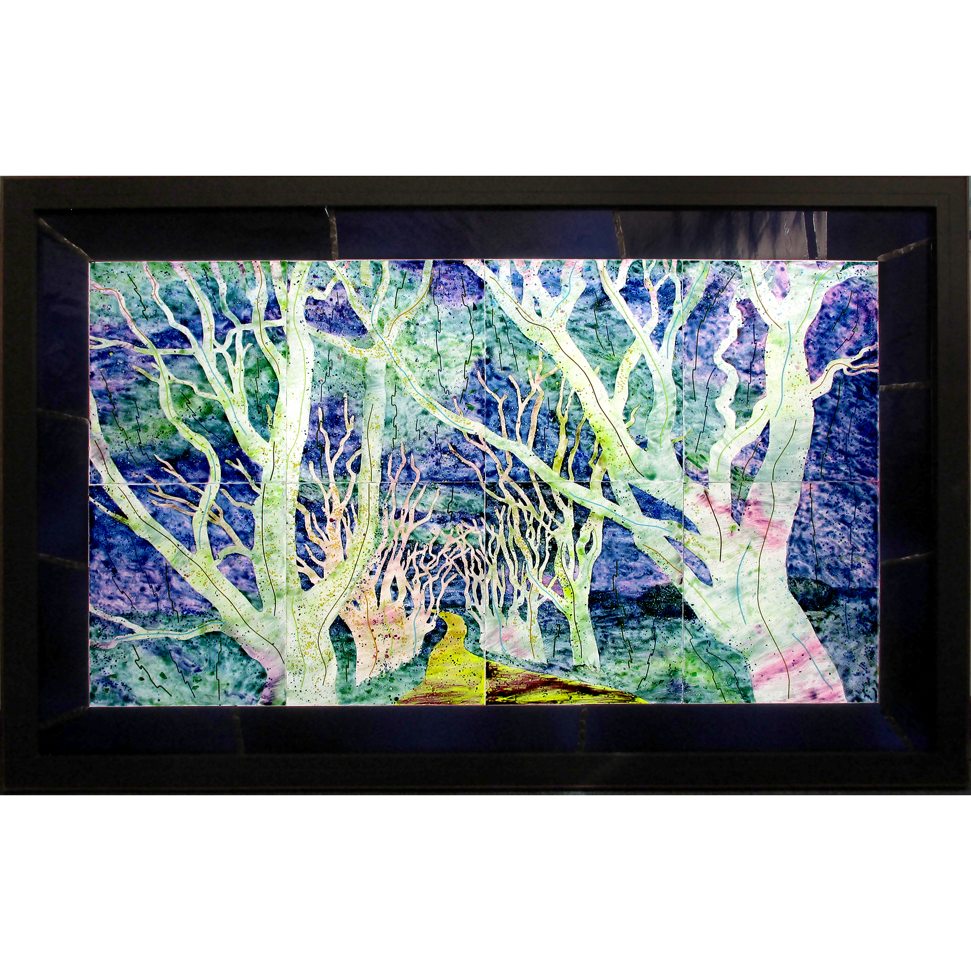 Fused and Laminated Glass Lightbox