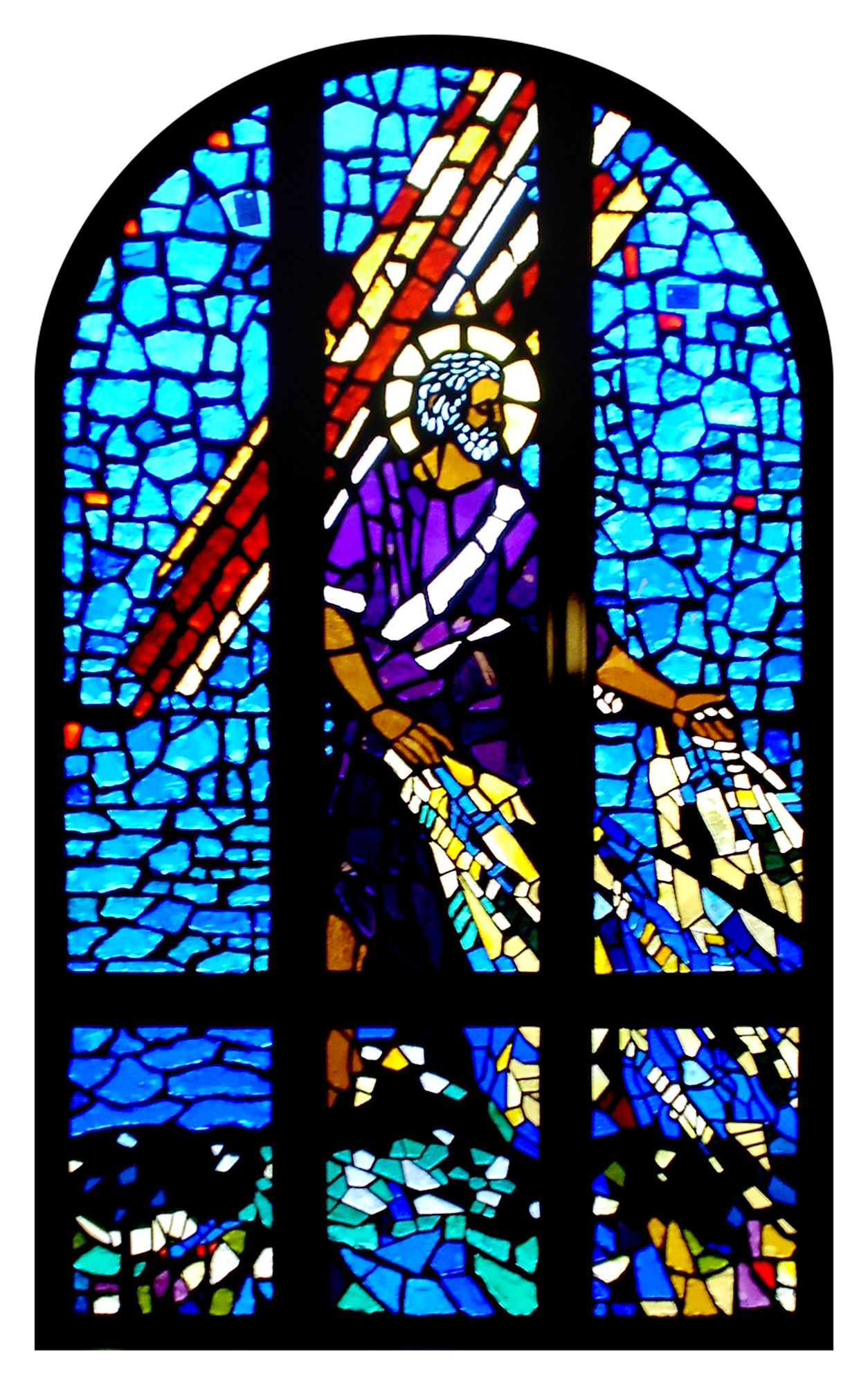 Faceted Glass, Greater St. Paul Church, Oakland, CA