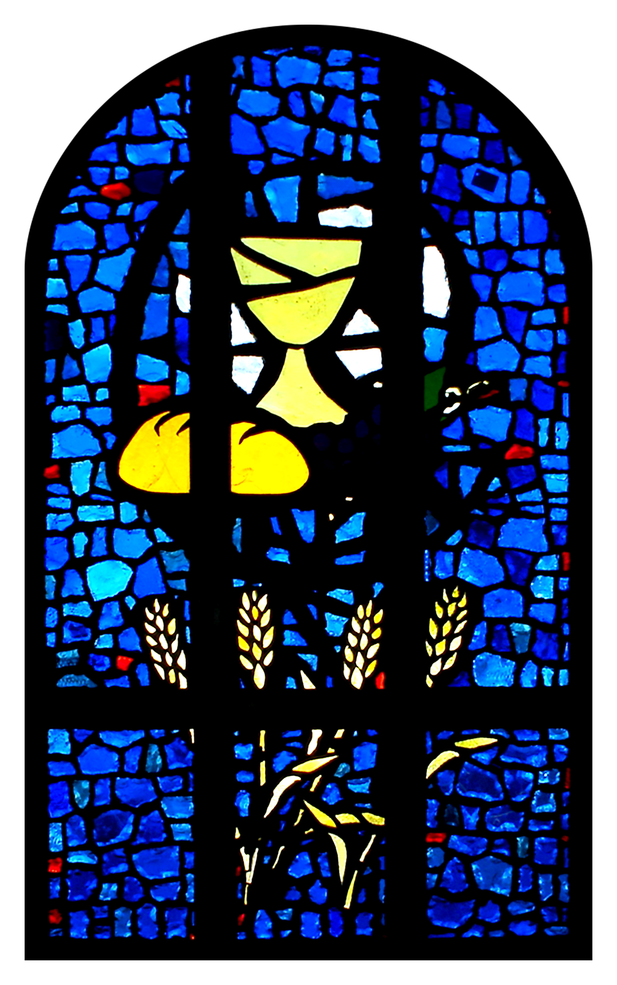 Faceted Glass Window, South Canyon Lutheran Church, Rapid City, SD