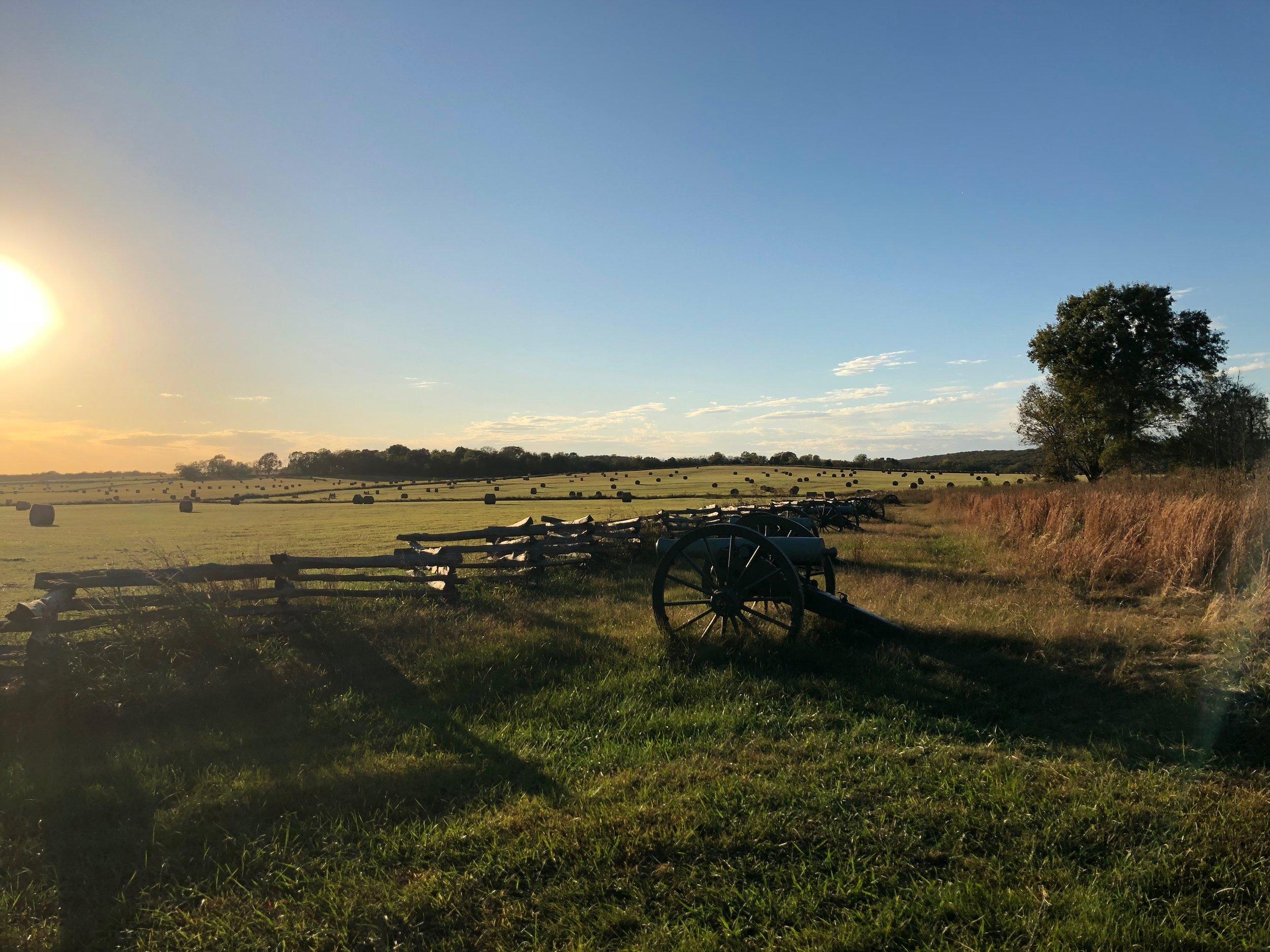 Pea Ridge battleground
