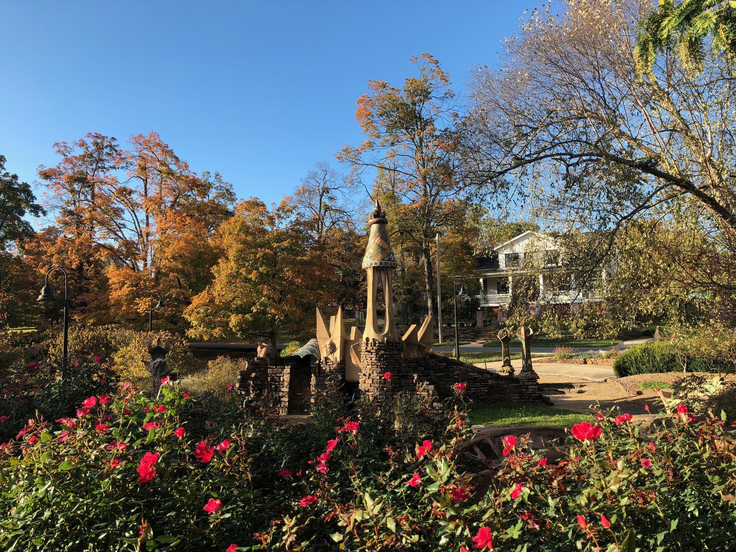 Wilson Park garden