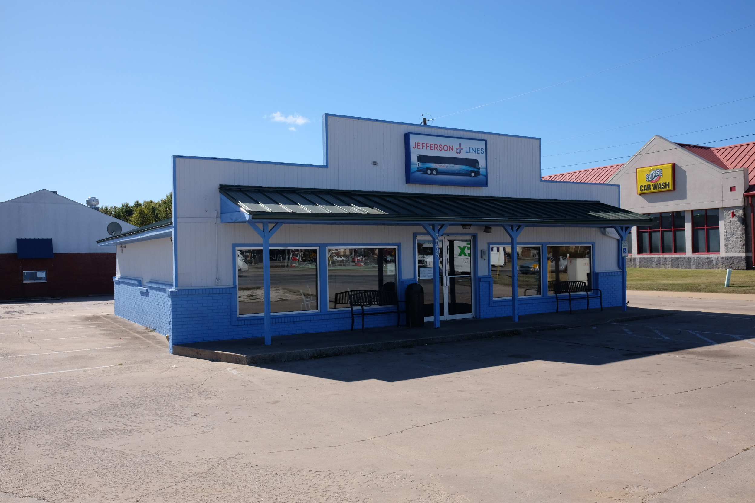 Fayetteville bus station