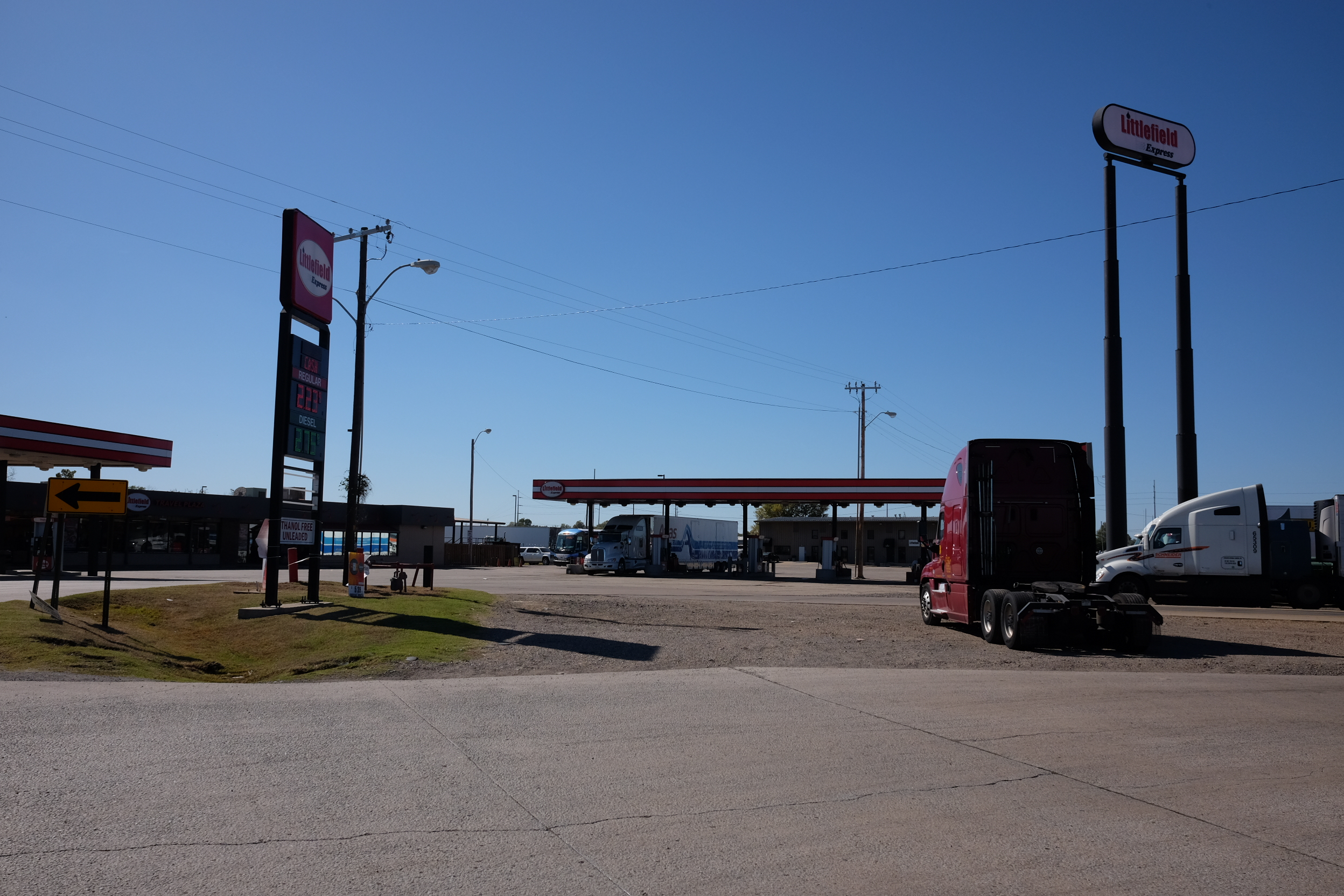 Littlefield Express 2 Travel Plaza. My ground zero for Fort Smith