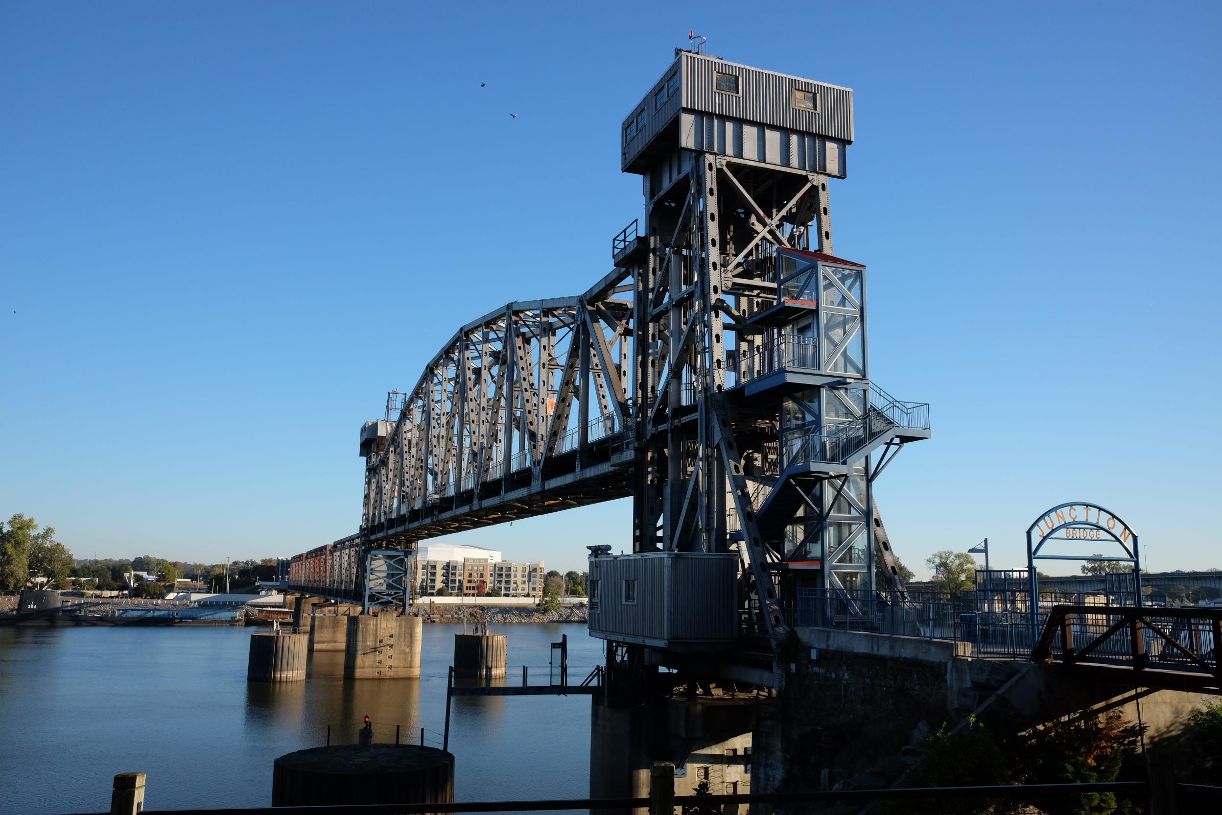Junction Bridge built in 1899, repurposed 2008