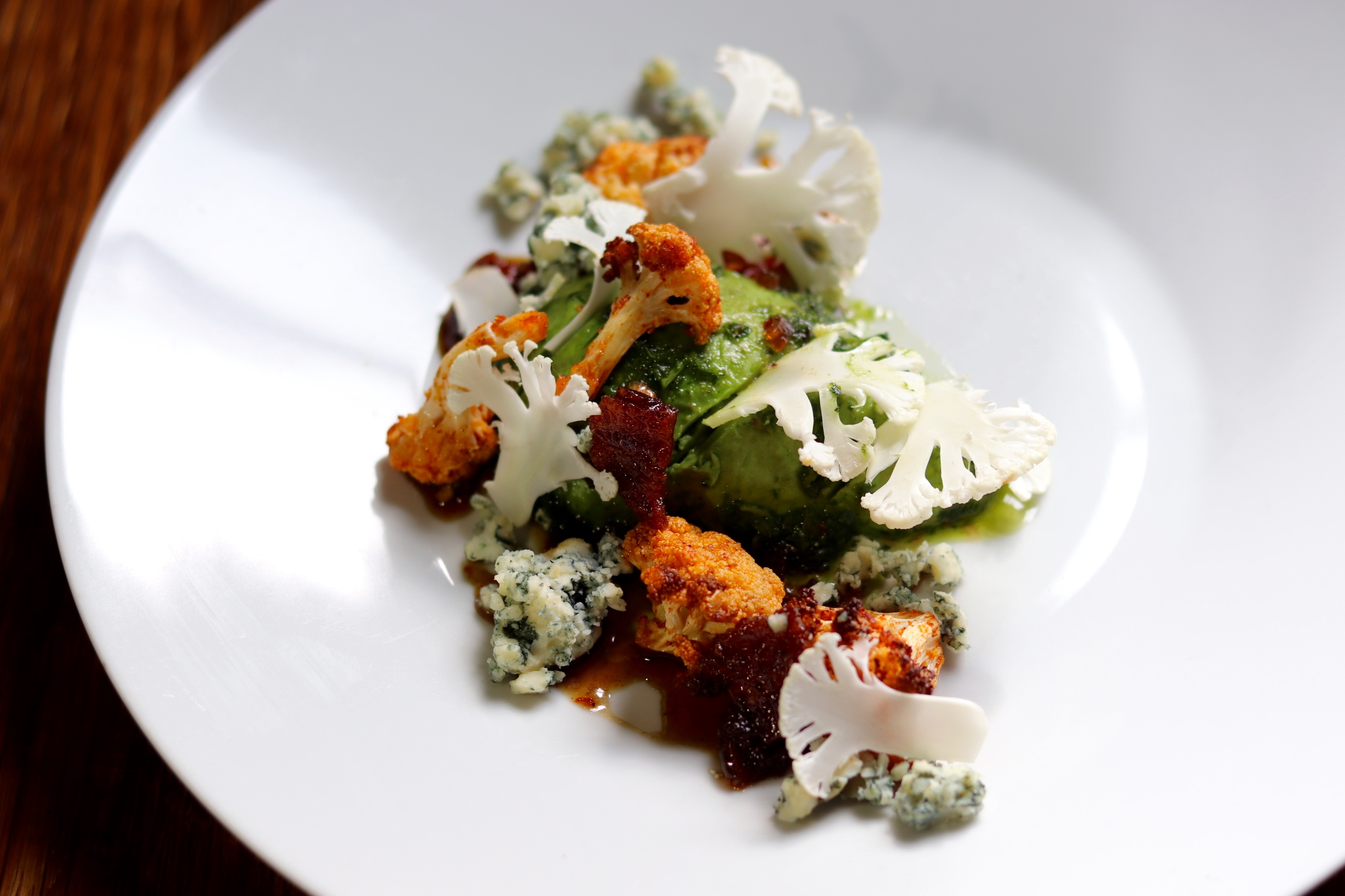 A special dish made for Easy Elegance by Chef Sara Bradley of Top Chef Kentucky