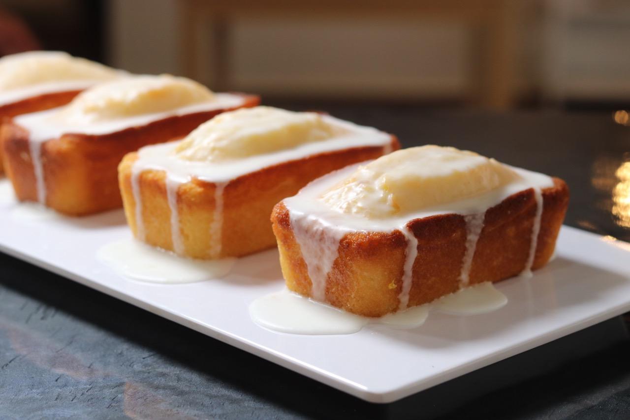 Lemon Cake Madeleine Dee