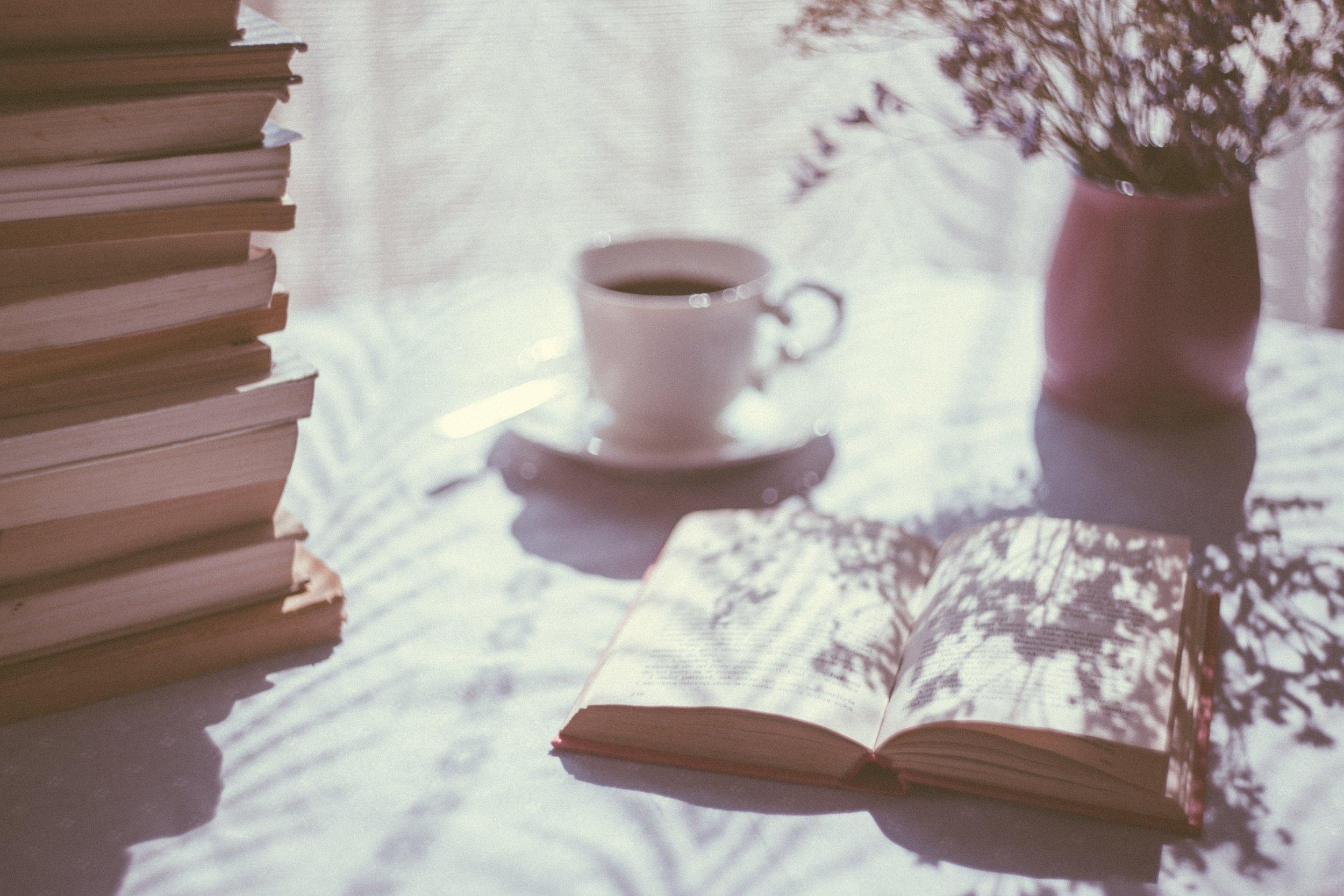 books and tea Photo by rawpixel.com on Unsplash.jpg