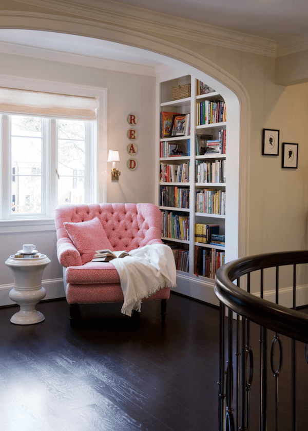 Anne White Interiors Blog | warm and cozy libraries