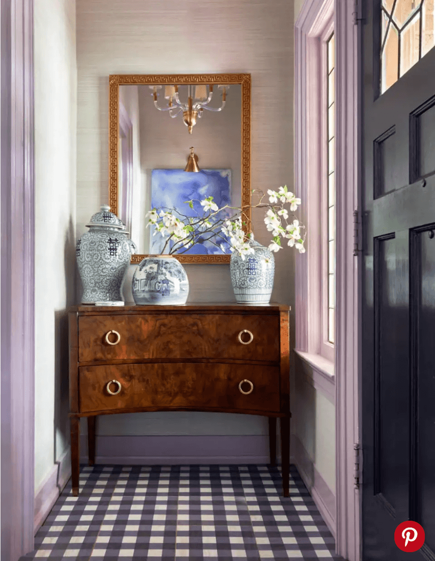 Anne White Interiors Blog   gingham is it in or is it out