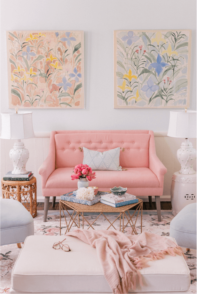 Anne White Interiors Blog | fun with florals