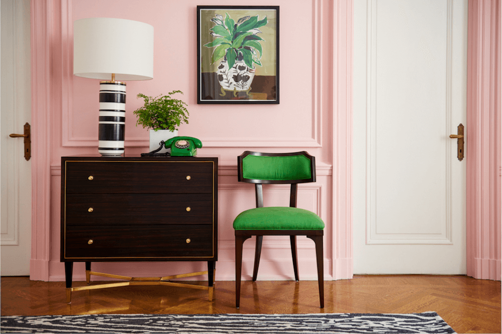 Anne White Interiors Blog | decorating with green: it's so easy