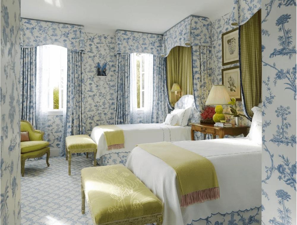 Anne White Interiors Blog   make a design statement: cover it all the same