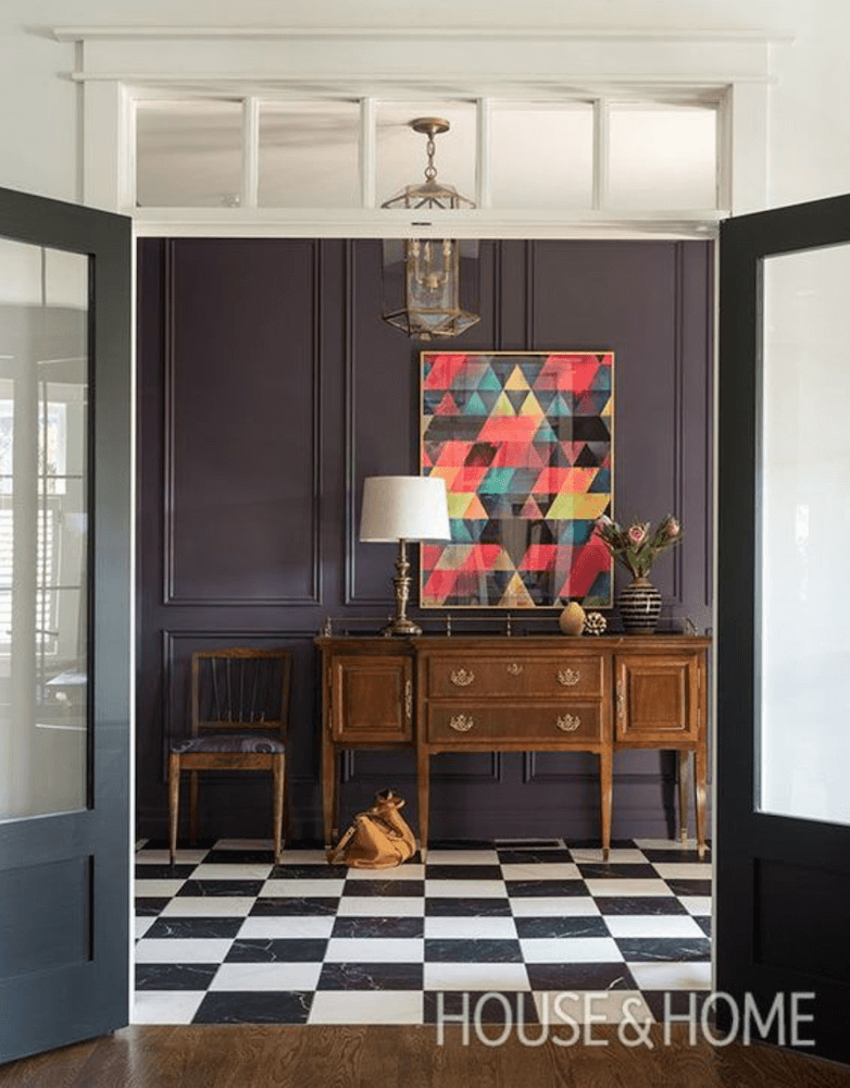Anne White Interiors Blog | decorating with purple