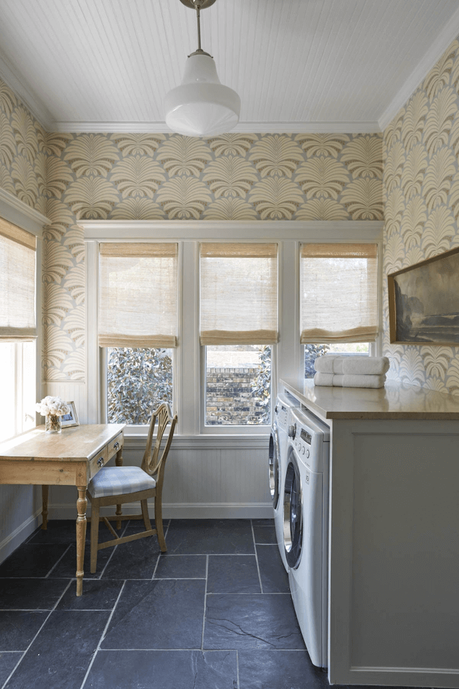 Anne White Interiors Blog | inspiration of the week laundry room retreat