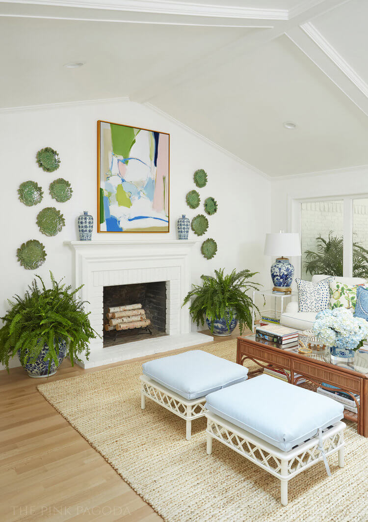 Anne White Interiors Blog | a family room renovation from dark and gloomy to light and bright