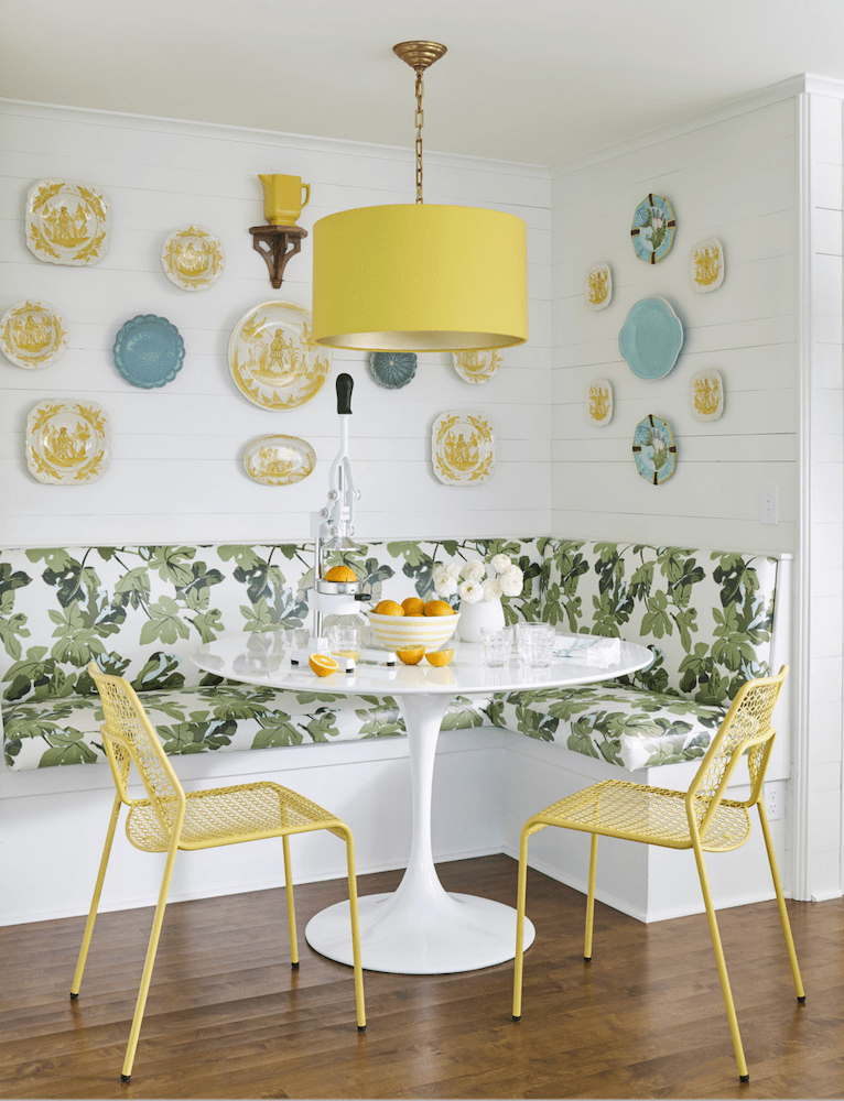 Anne White Interiors Blog   inspiration of the week: a breakfast nook with personality