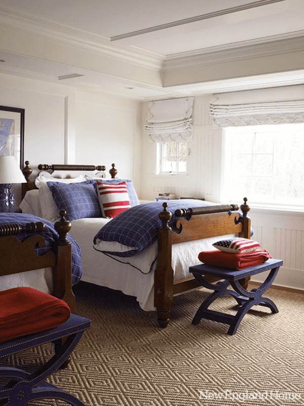 Anne White Interiors Blog | patriotic interior design for a timeless look