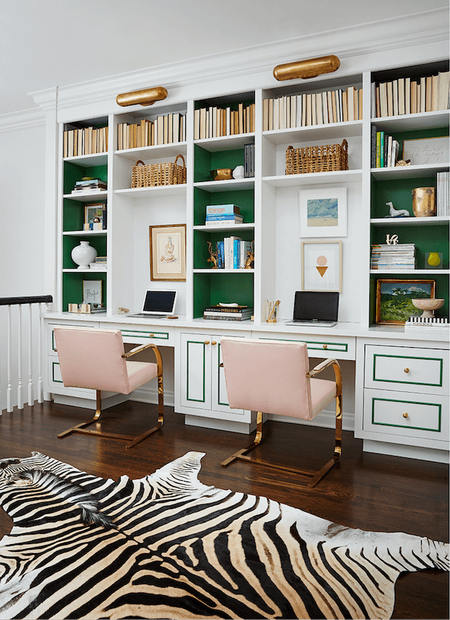 Anne White Interiors Blog | inspiration of the week: a cool study area for back to school