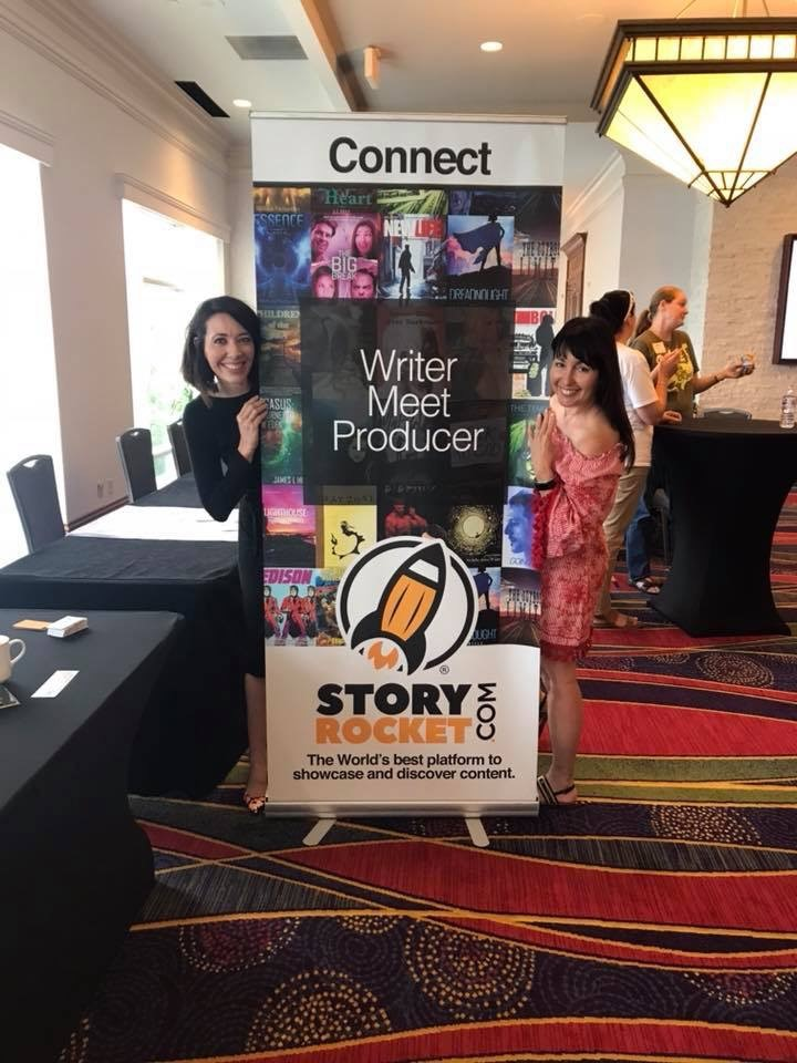 Danielle A. Vann and Ana Benitez at the 2018 Texas Author Association's Marketing two-day event in Dallas, Texas. Both Storyrocket and Vann spoke to authors (in separate events) about leveraging their marketing plans and turning to the digital marketplace to rocket their stories forward.