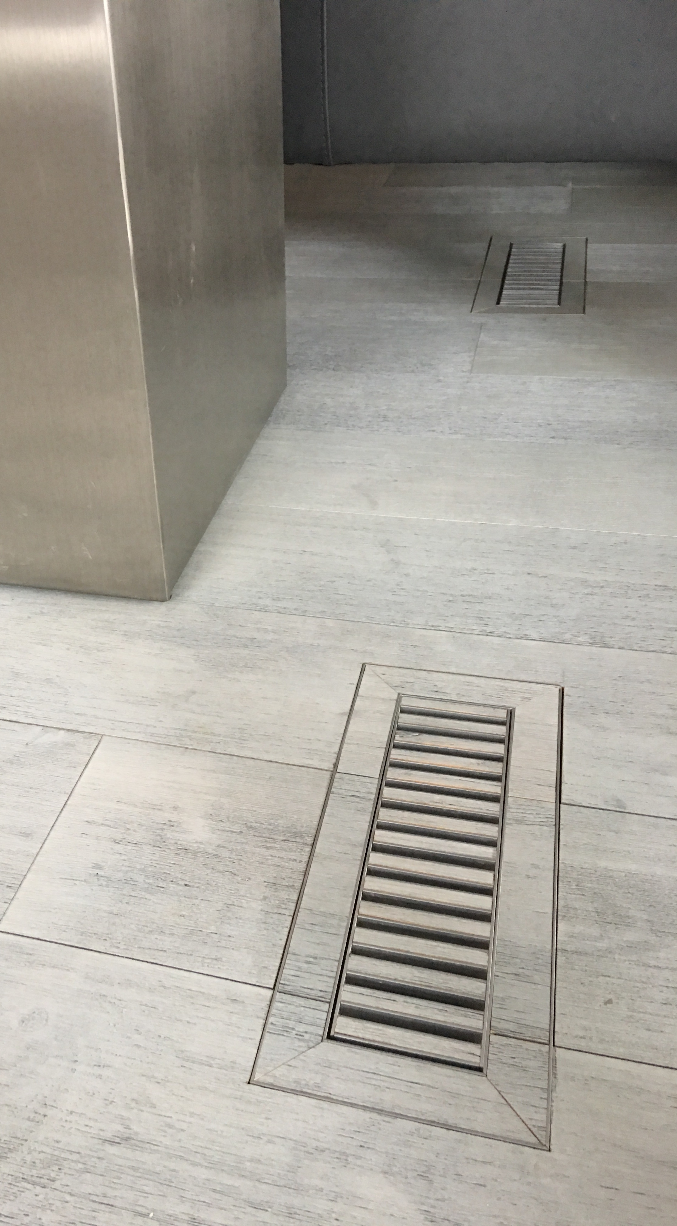 chameleon floor register flush mount tile register