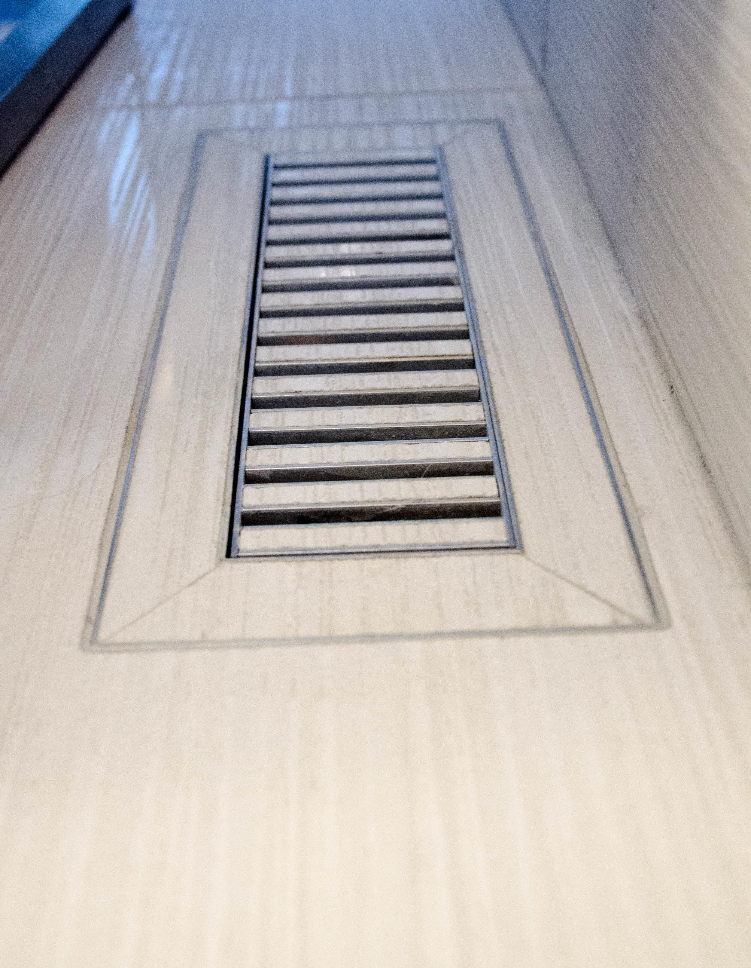 chameleon register flush mount register tile register