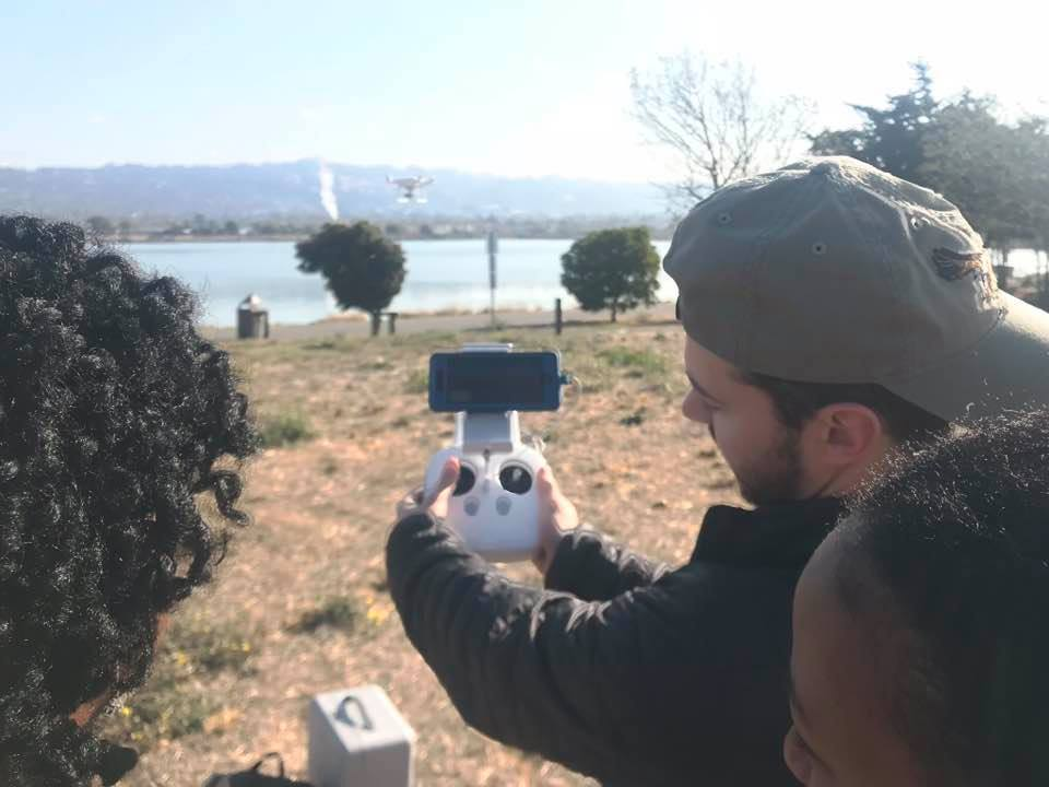 UC Berkeley Graduate School of Journalism - Visiting Lecturer of Drone Videography
