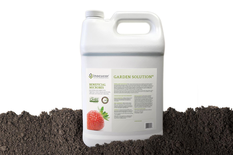 Copy of Inocucor, Packaging, Garden Solution