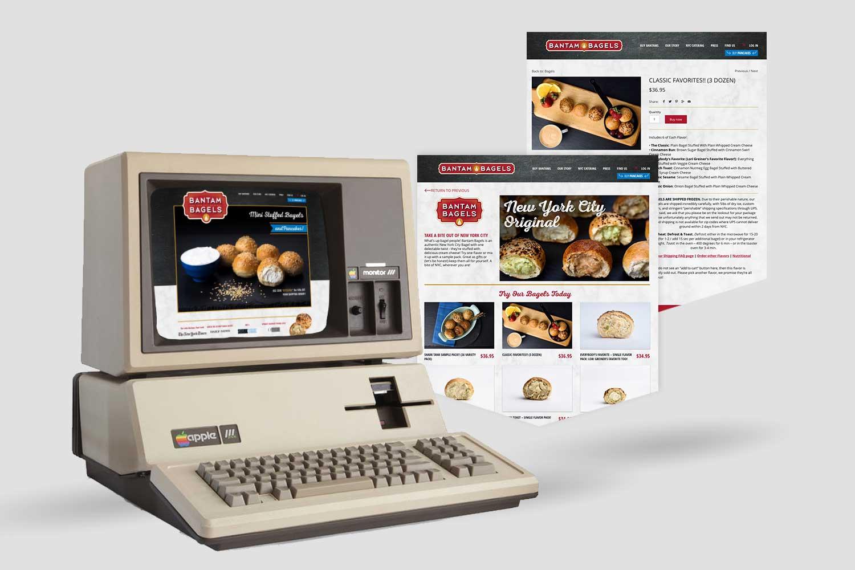 Copy of Bantam Bagels, Digital, Web Design, Desktop, Mobile