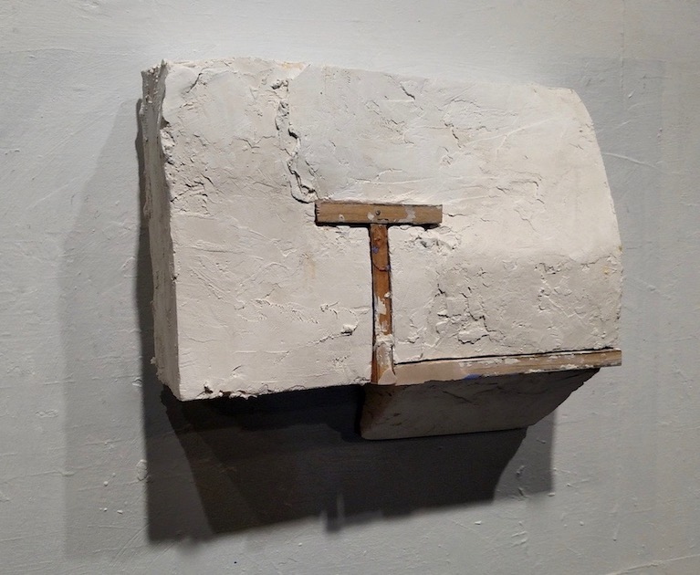 Object with Wood Line (a), 2018